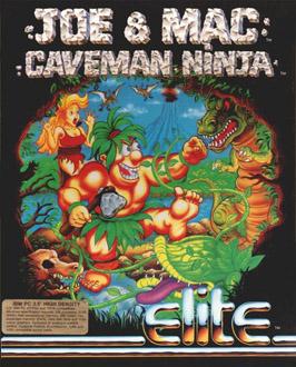 Portada de la descarga de Joe & Mac – Caveman Ninja