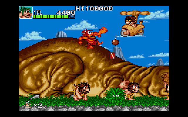 Pantallazo del juego online Joe & Mac - Caveman Ninja (PC)