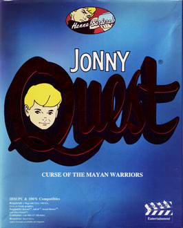 Portada de la descarga de Jonny Quest: Curse of the Mayan Warriors