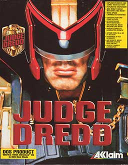 Portada de la descarga de Judge Dredd