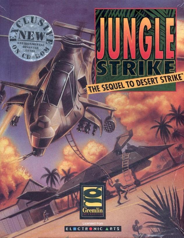 Portada de la descarga de Jungle Strike