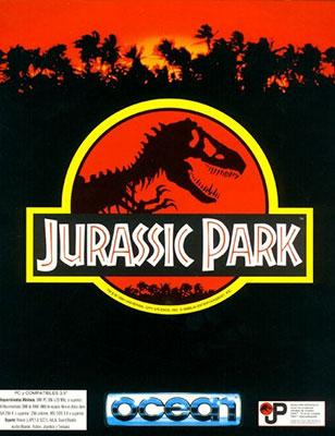 Portada de la descarga de Jurassic Park CD