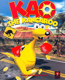 Portada de la descarga de Kao the Kangaroo