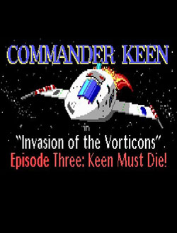Portada de la descarga de Commander Keen Episode III: Keen Must Die