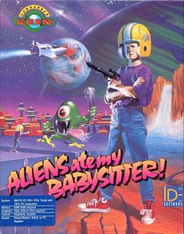 Portada de la descarga de Commander Keen: Aliens Ate My Babysitter
