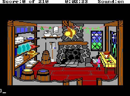 Pantallazo del juego online King's Quest III - To Heir is Human (PC)
