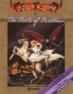 Carátula del juego King's Quest IV - The Perils of Rosella (PC)