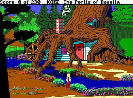 Pantallazo del juego online King's Quest IV - The Perils of Rosella (PC)