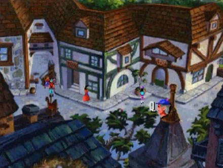Pantallazo del juego online King's Quest V (PC)