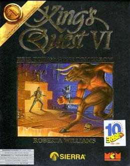 Portada de la descarga de King's Quest VI: Heir Today Gone Tomorrow