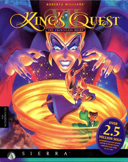 Portada de la descarga de King's Quest VII: The Princeless Bride
