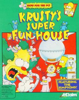 Portada de la descarga de Krusty's Fun House
