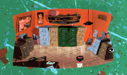 Pantallazo del juego online Leisure Suit Larry 5 Passionate Patti Does a Little Undercover Work (PC)