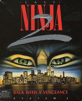 Portada de la descarga de The Last Ninja 2: Back With a Vengeance