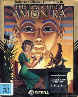 Portada de la descarga de Laura Bow – The Dagger of Amon Ra