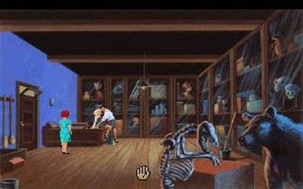 Pantallazo del juego online Laura Bow - The Dagger of Amon Ra (PC)