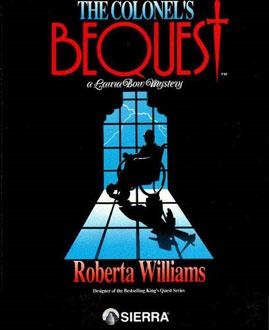Portada de la descarga de The Colonel's Bequest: A Laura Bow Mystery