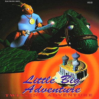 Portada de la descarga de Little Big Adventure