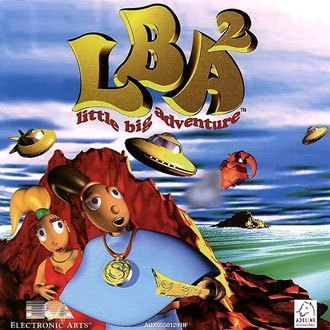 Carátula del juego Little Big Adventure 2 Twinsen's Odyssee (PC)