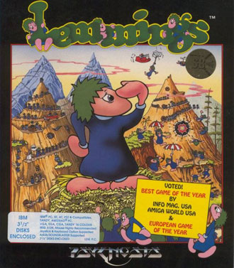 Portada de la descarga de Lemmings