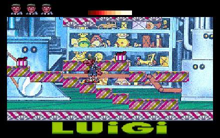 Pantallazo del juego online Luigi en Circusland (PC)