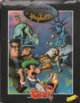 Portada de la descarga de Luigi & Spaghetti