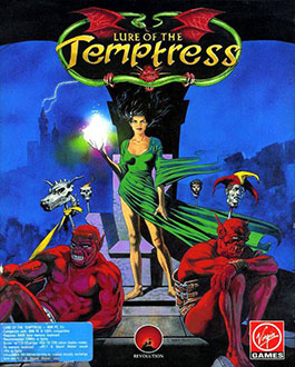 Portada de la descarga de Lure of the Temptress