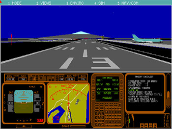 Imagen de la descarga de Microsoft Flight Simulator 4.0
