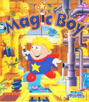 Carátula del juego Magic Boy (PC)