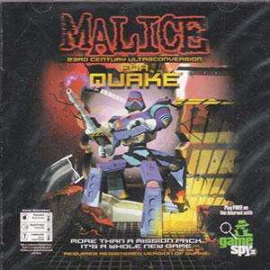 Portada de la descarga de Malice: 23rd Century Ultraconversion for Quake