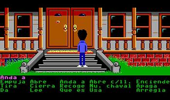 Pantallazo del juego online Maniac Mansion (PC)
