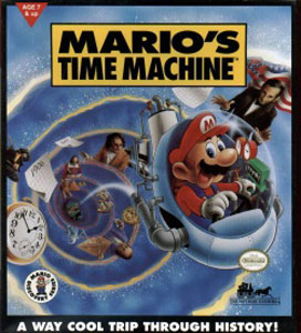 Portada de la descarga de Mario's Time Machine