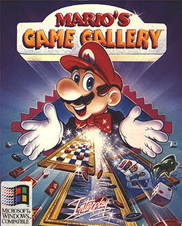 Portada de la descarga de Mario's Game Gallery
