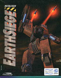 Portada de la descarga de Metaltech: Earthsiege