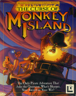 Portada de la descarga de The Curse of Monkey Island