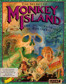 Portada de la descarga de The Secret of Monkey Island VGA