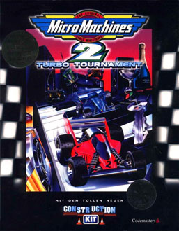 Portada de la descarga de Micro Machines 2: Turbo Tournament