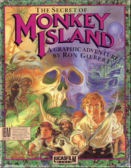 Carátula del juego The Secret of Monkey Island (EGA) (PC)