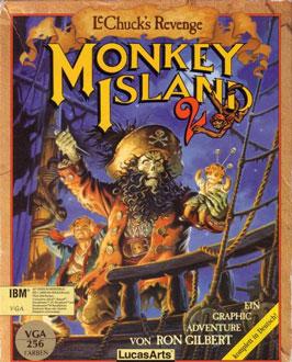 Carátula del juego Monkey Island 2 - LeChuck's Revenge (PC)