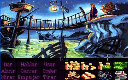Pantallazo del juego online Monkey Island 2 - LeChuck's Revenge (PC)