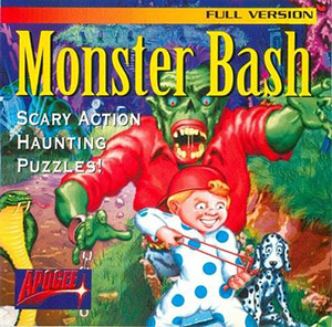 Portada de la descarga de Monster Bash