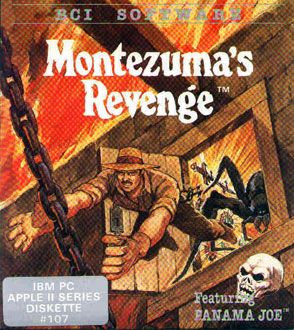 Carátula del juego Montezuma's Revenge (PC)