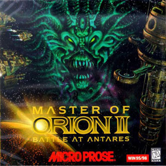 Carátula del juego Master of Orion II Battle at Antares (PC)