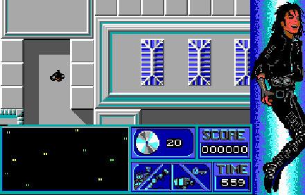 Pantallazo del juego online Michael Jackson Moonwalker (PC)