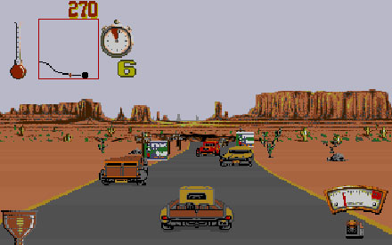 Pantallazo del juego online Moonshine Racers (PC)