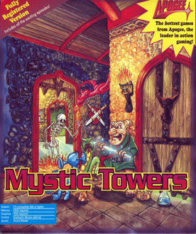 Portada de la descarga de Mystic Towers