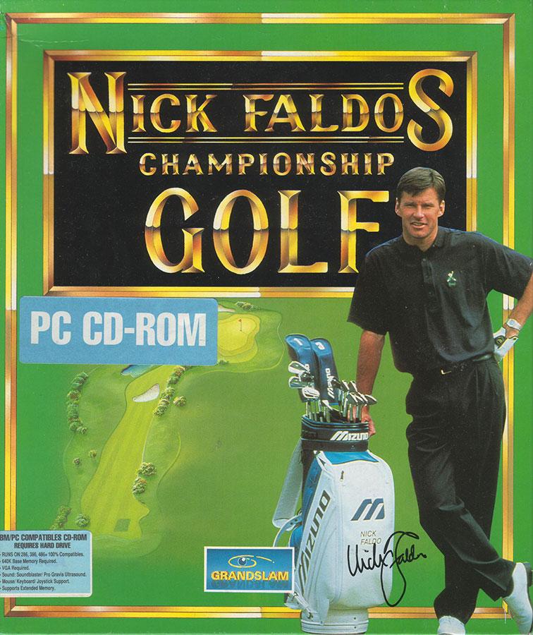 Portada de la descarga de Nick Faldo's Championship Golf