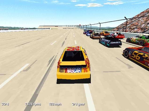Imagen de la descarga de NASCAR Racing 1999 Edition