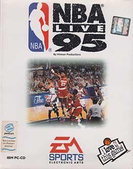 Portada de la descarga de NBA Live 95