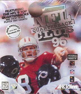 Portada de la descarga de NFL Quarterback Club '96